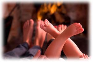 Teplo krbu je jiné než teplo z radiátorů
