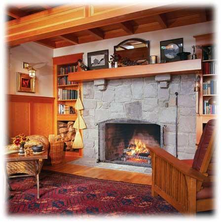 Otevřené krby dokážou navodit doma příjemnou atmosféru